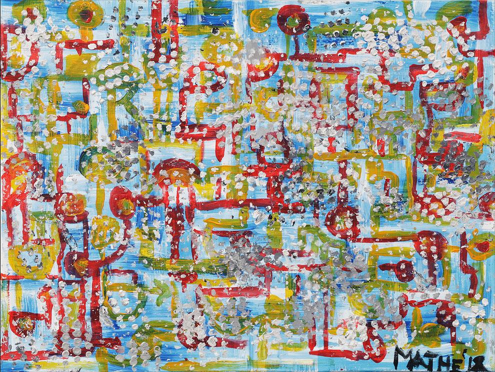 Fyigments, 60 x 80 cm. No. 41