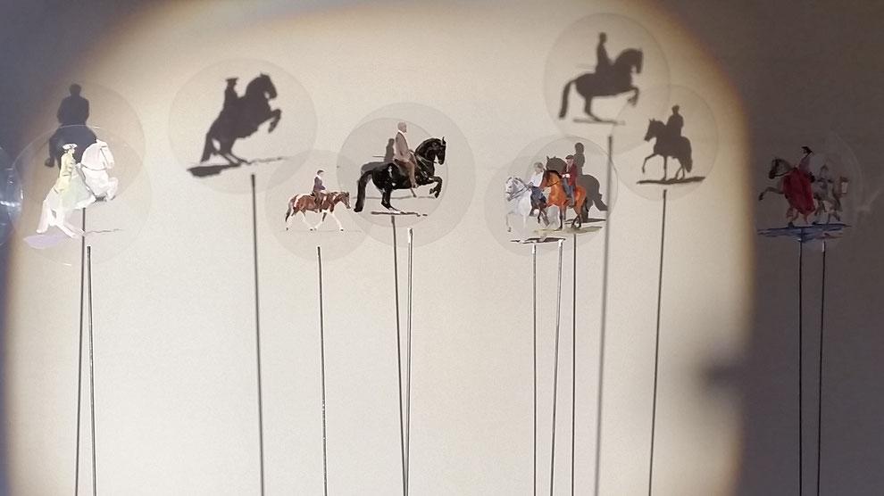Heike Ludewig Reitkunst Installation