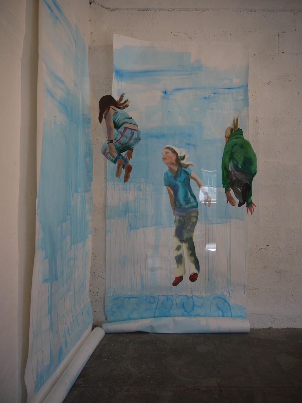 Heike Ludewig jump