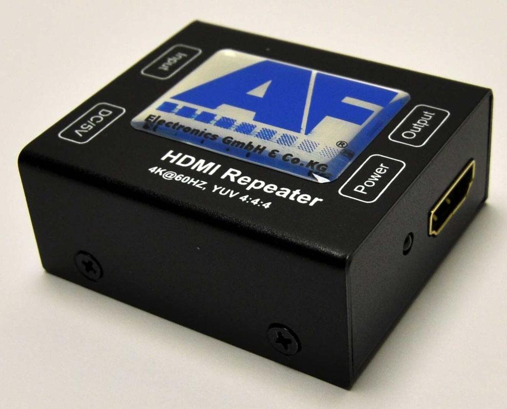 Hdmi Repeater Retail Electronics Hdr Verteilverstrker Kabel 15meter Suport 1080p Verstrker