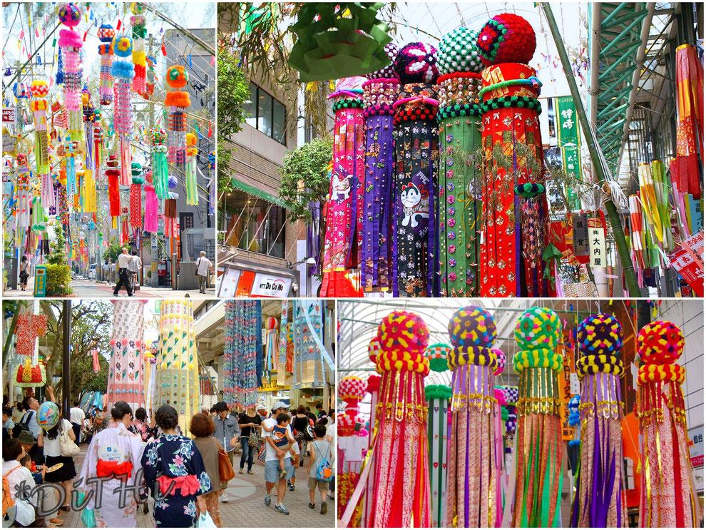 三 祭り 日本 大 七夕