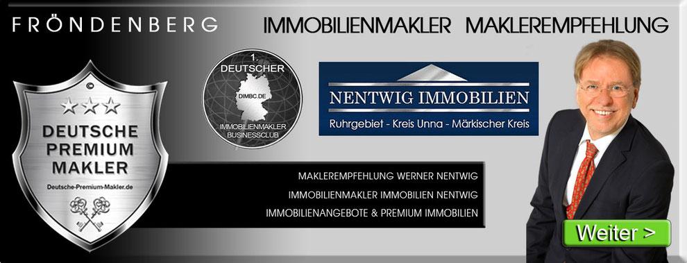 IMMOBILIENMAKLER FRÖNDENBERG WERNER NENTWIG IMMOBILIEN MAKLEREMPFEHLUNG