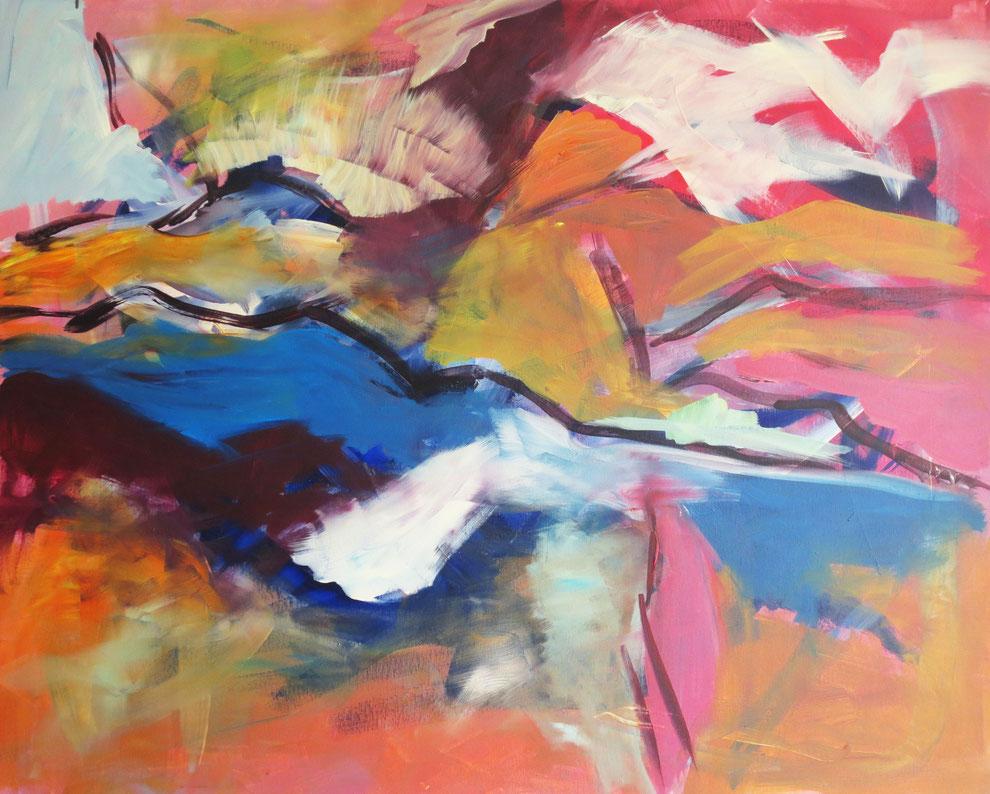Farbraum I – Acryl auf Leinwand – 80x100 cm – 2013