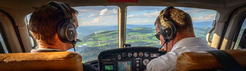 Hubschrauberflug Bad Vöslau / Wien