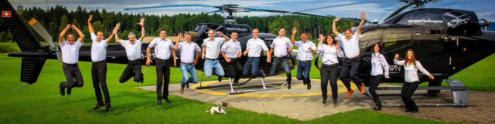 Hubschrauberteam