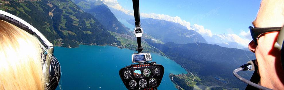 Hubschrauberflug ab Stockerau - Wien