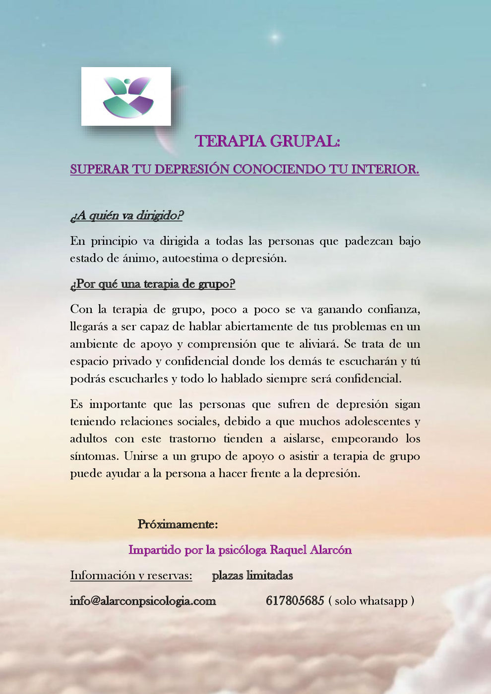 Entre todos podremos resolver dudas y conseguir un mayor bienestar personal con psicólogos en Murcia