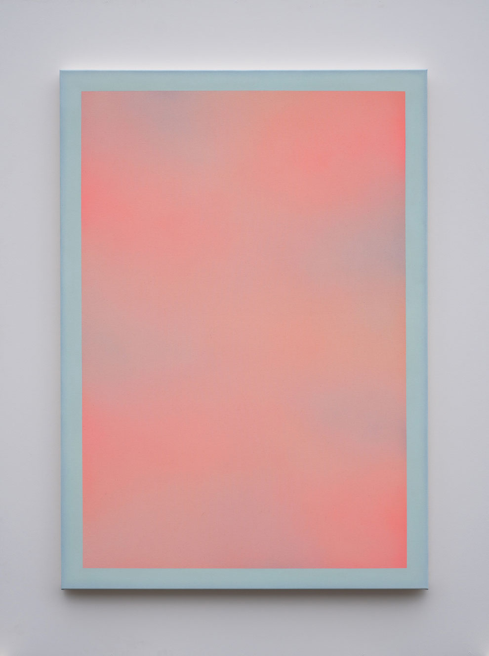 "Alina Birkner ""Untitled (Pink and Blue)"" 2021, 170x120 cm"
