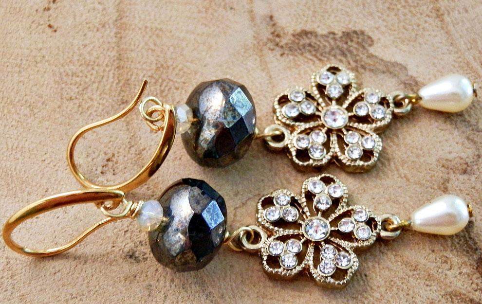 schitterende sieraden voor een gekostumeerd bal om te dragen op je historische kostuum claire fraser oorbellen