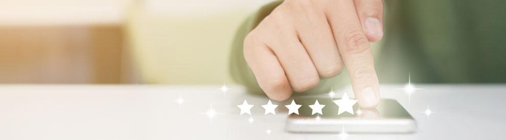 blog over het geven en krijgen van reviews