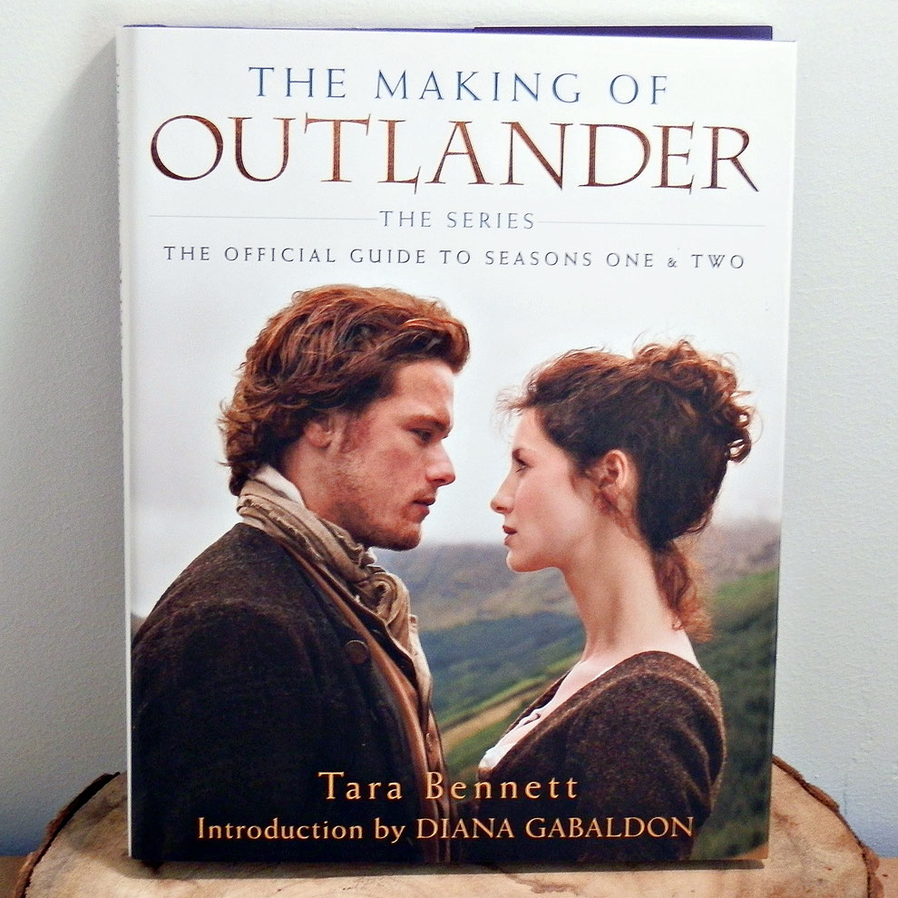 book review over The making of Outlander by Tara Bennett