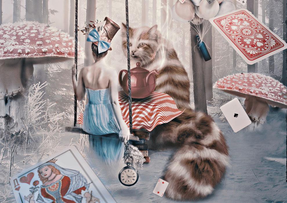 Blog over Alice's adventures in Wonderland en een paar bijzondere oorbellen bij het verhaal