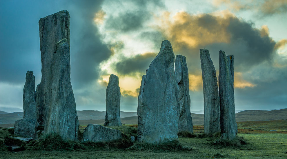 steencirkel Craigh na Dun in Outlander, filmlocaties