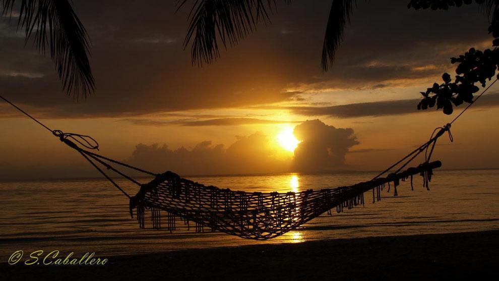 Sonnenuntergang auf Ticao Island