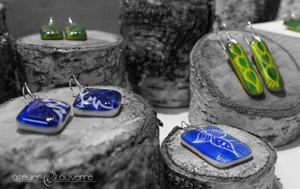 bijoux verre atelier oliverre