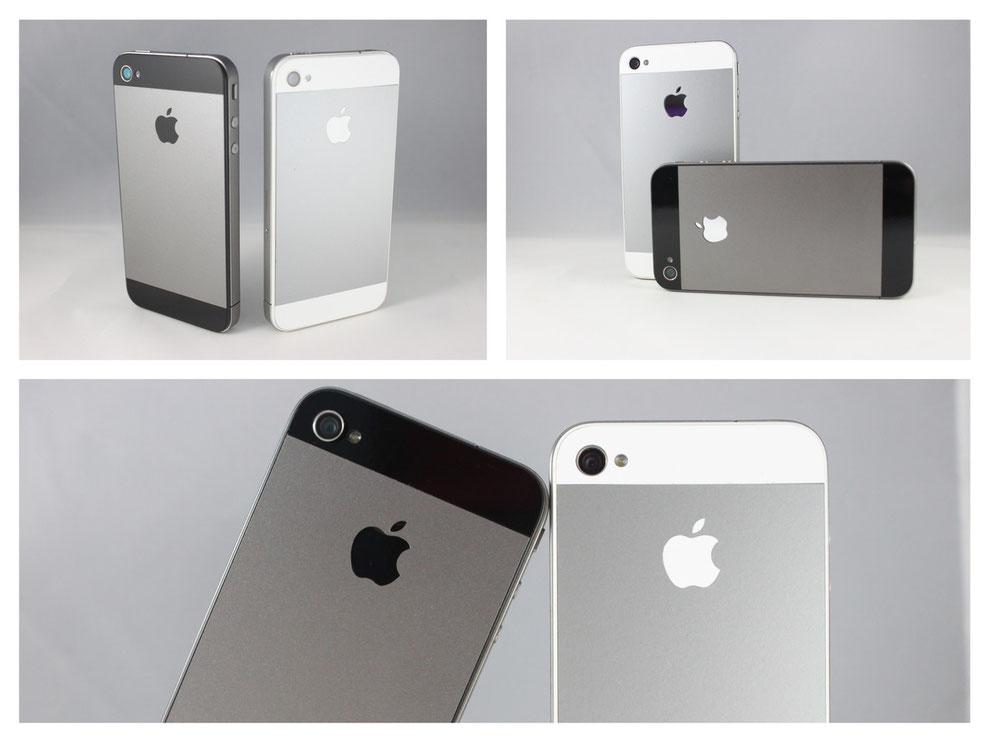 iPhone 4/4s im iPhone 5 design