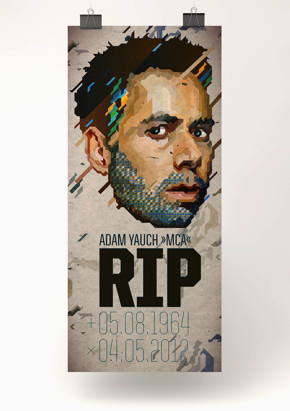 Illustration of  Adam Jauch 1964 - 2012 R.I.P.