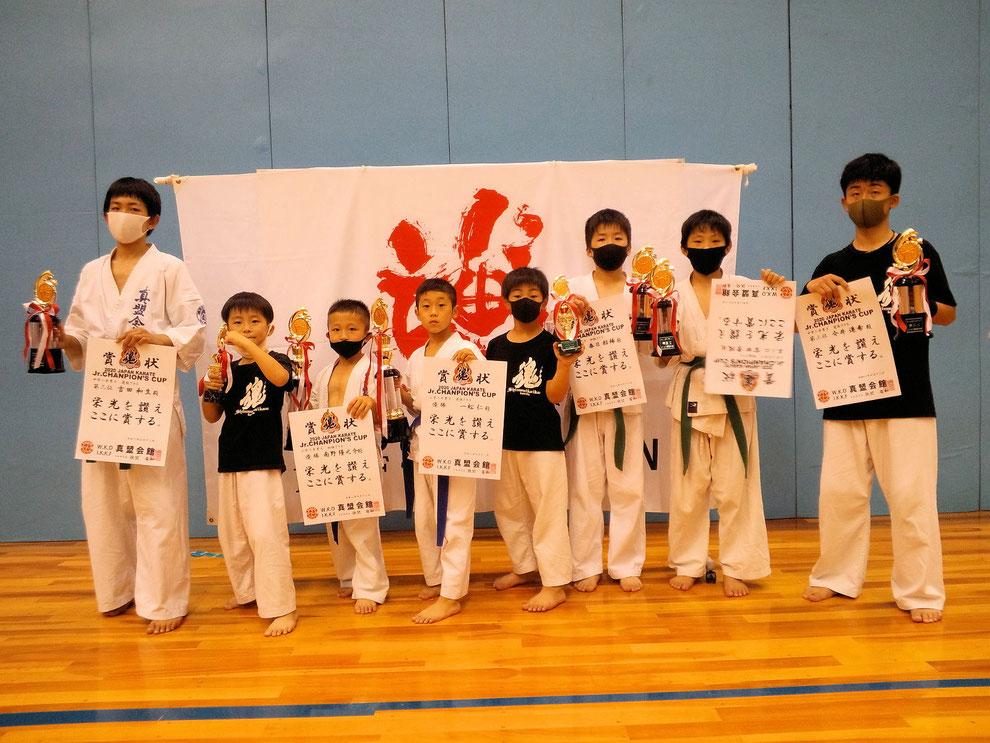 泉佐野市 空手道場 真盟会館 泉佐野支部 真盟会館 2020 JAPAN KARATE Jr.CHAMPION'S CUP