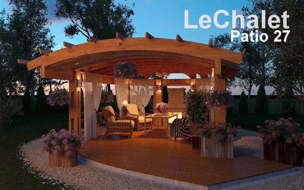 навесы, веранды, террасы, патио, барбекю, купить, patio 27, строительство, проектирование ле шале, le chalet