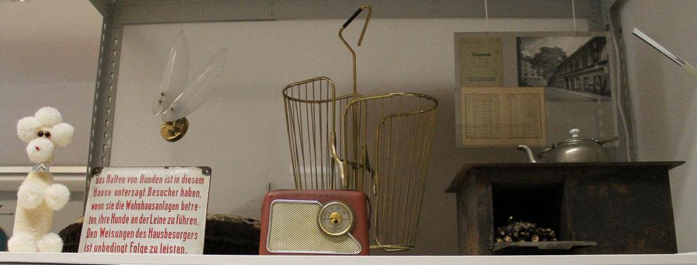Aus der Schausammlung des Bezirksmuseums Alsergrund (ALSEUM)