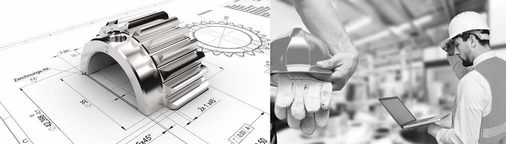Umfangreiche technische Services für Maschinen- und Anlagenbau