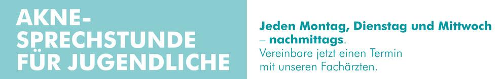 Vereinbaren Sie einen Termin zur Behandlung von Akne im MVZ Praxis Dr. Cornely in Düsseldorf