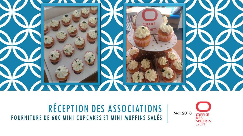 cupcakes salés buffet événements entreprises Tonka Croix Rousse