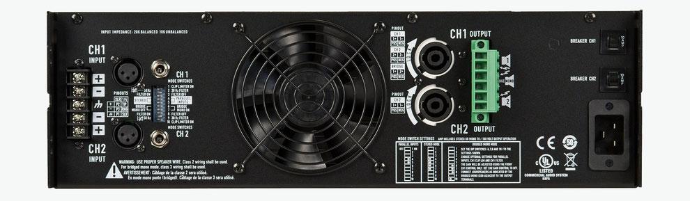 qsc cmx, cmx2000, amplificadores para instalaciones