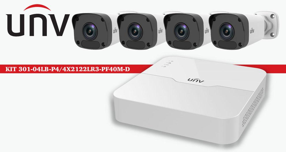 kit de seguridad, camaras de vigilancia, cctv, dahua, unv, hikvision, samsung