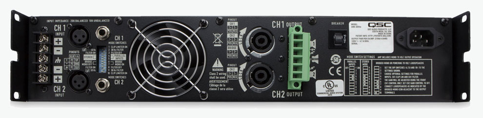 qsc cmx, cmx500, amplificadores para instalaciones