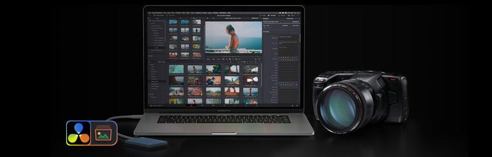 davinci resolve, davinci resolve studio, media, cut, edit, fusion, color, fairlight, deliver, da vinci módulos