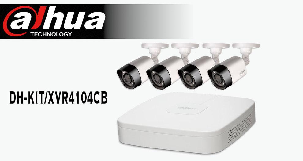 cámaras de seguridad, circuito cerrado, cctv, kit de vigilancia, dahua