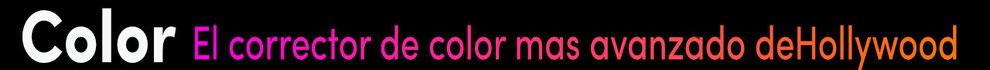 corrección de color, etalonaje