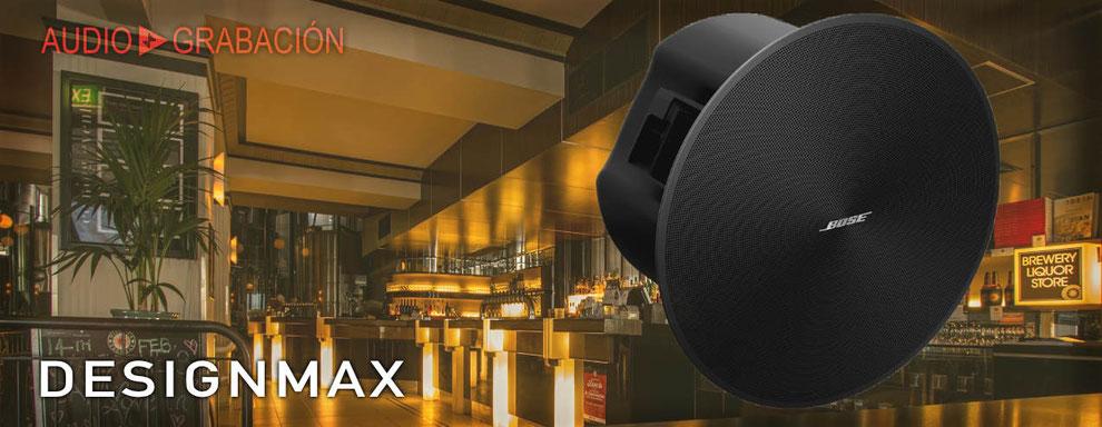 BOSE, Designmax, bocinas para plafón, bocinas para hoteles, DM2, DM3, DM5, DM6, DM8