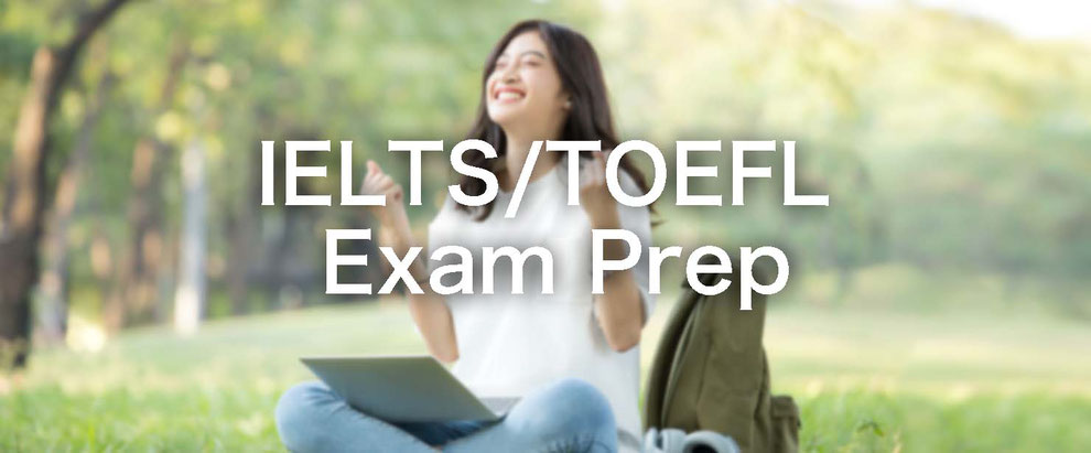 IELTS/TOEFL exam preparation online