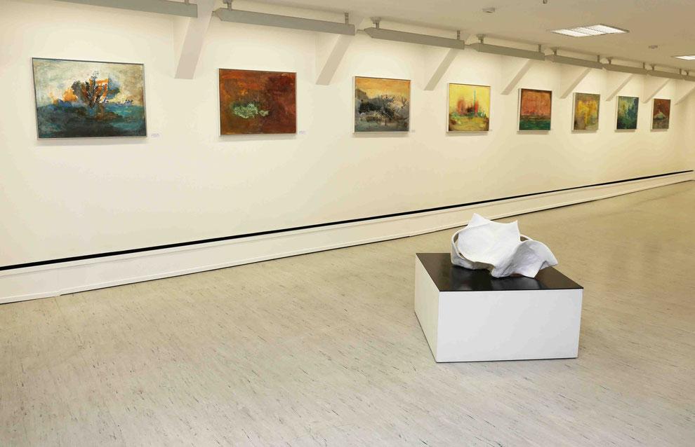 Manuela Mordhorst Ausstellung in der Galerie Otterndorf