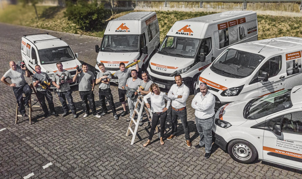 Oliver Pockrandt ReMoSan GmbH Worms Bau Sanierungen Fenster Türen Team