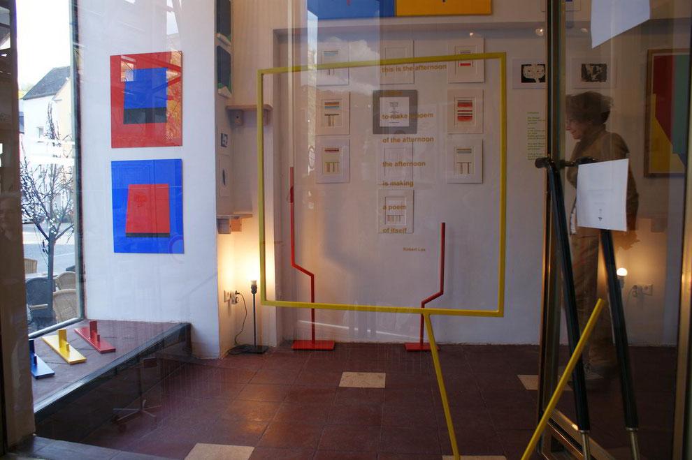Robert Lax in der Galerie SEHR, Koblenz, Ausstellung Beni Cohen-Or: Tov, 2016