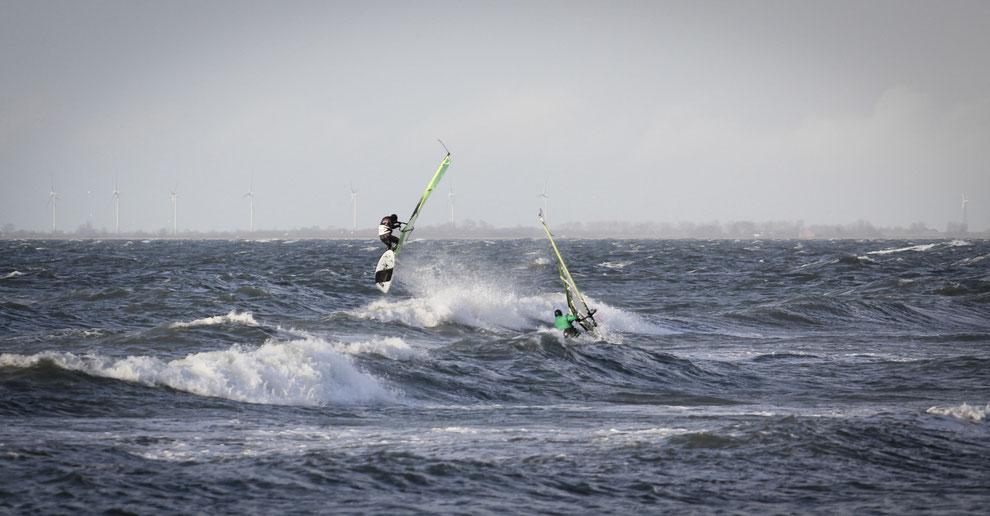 Windsurfen Heiligenhafen Frontloop