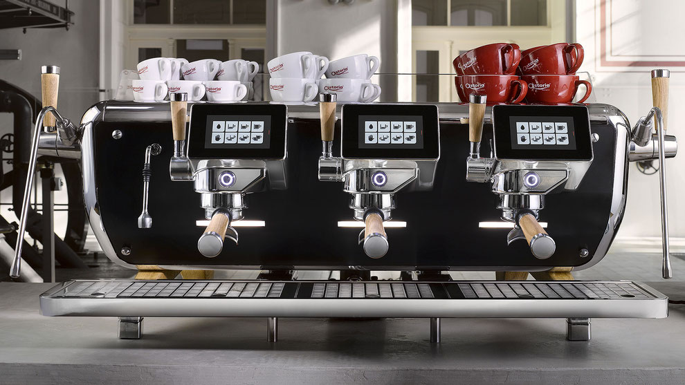 Astoria Storm / Gastro Espresso Siebträgermaschine mit Dual- Multiboilersystem / Merkmale