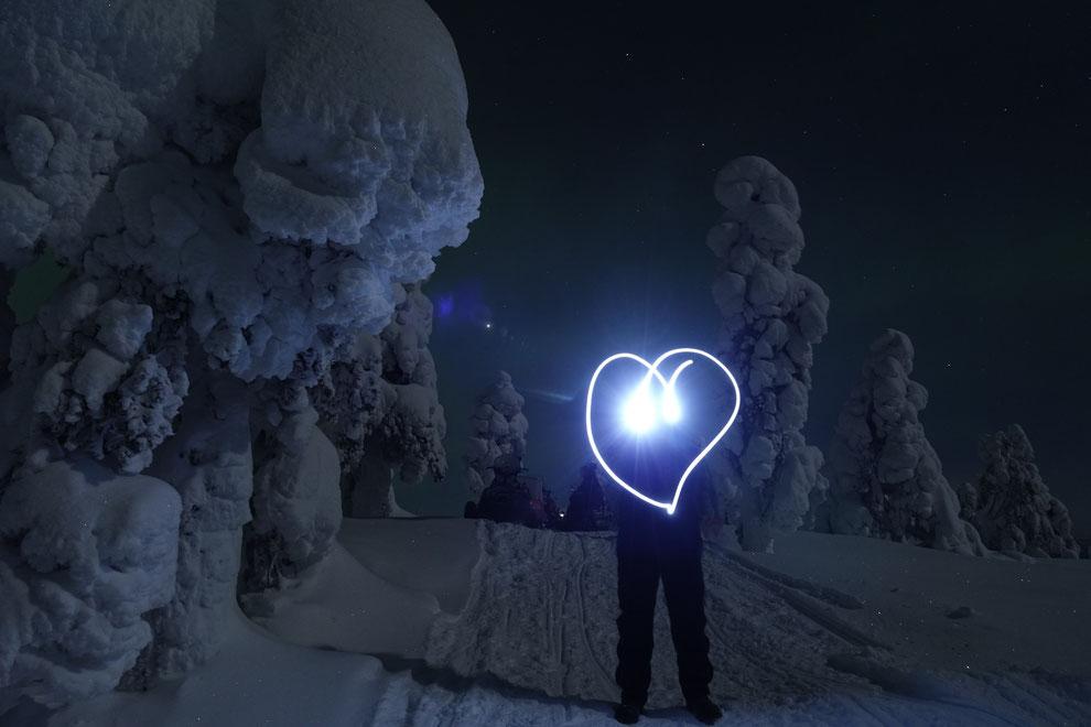 Liebesgrüße aus Finnland - ich liebe Euch beide über Alles :-)