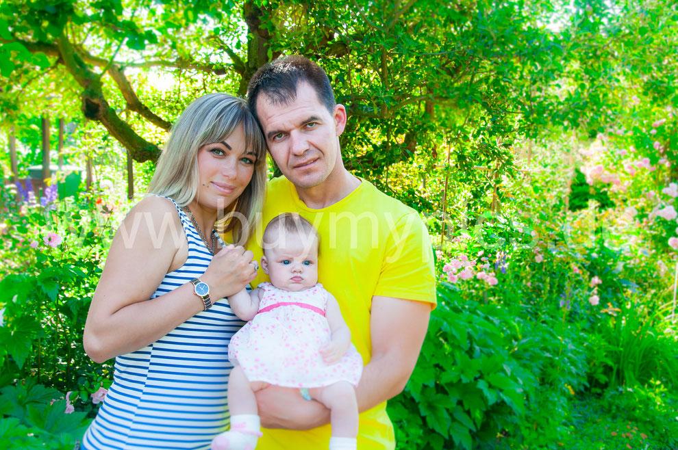 Perspektiven wechseln beim Erstellen von Familienportraits