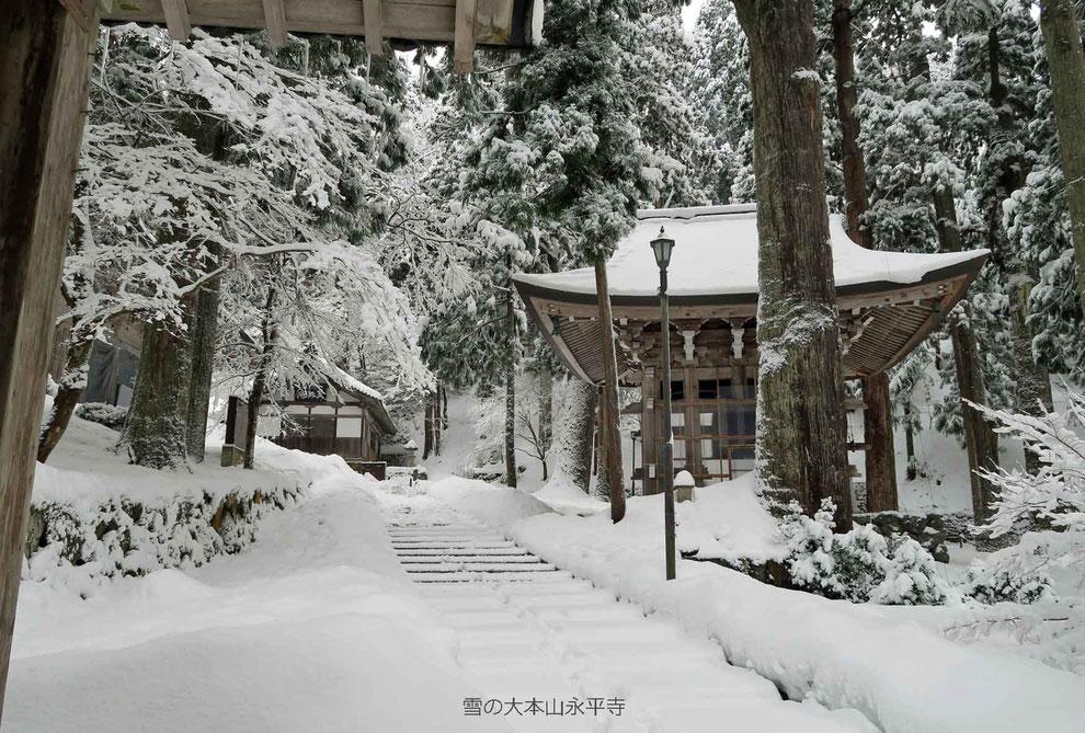 雪の大本山永平寺-3