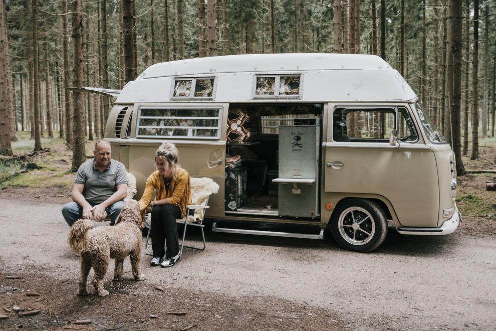 fotoshoot camper kampeerbusje