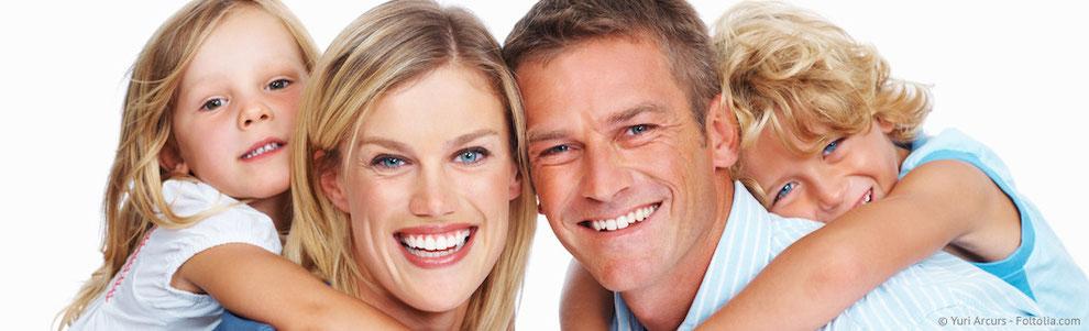 Gesunde Zähne in jedem Alter mit regelmäßiger Prophylaxe beim Zahnarzt Taucha