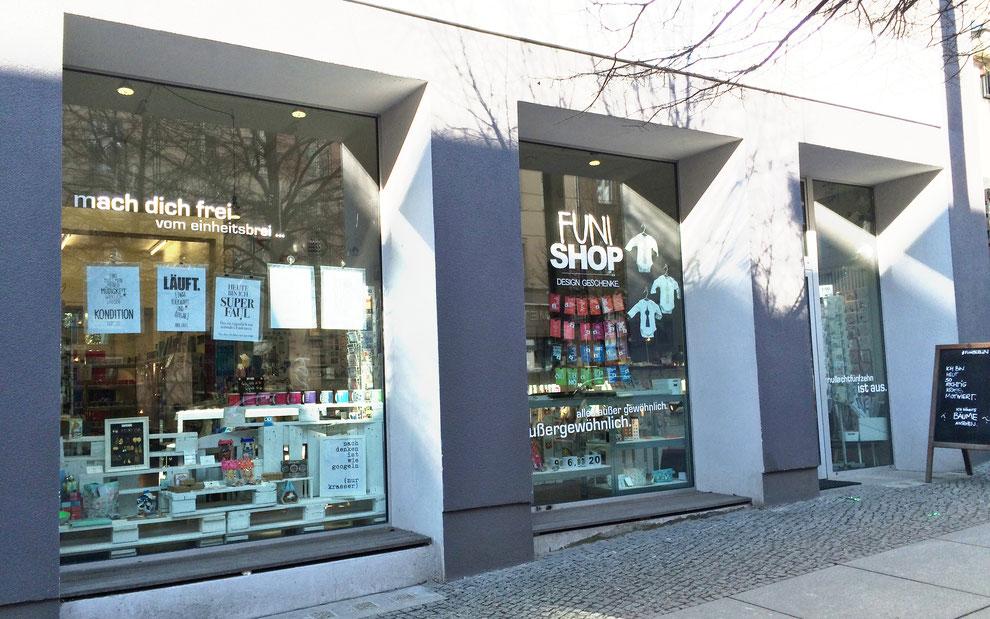 Good bye ... FUNI SHOP, Veteranenstraße 17, 10119 Berlin. Danke ;)