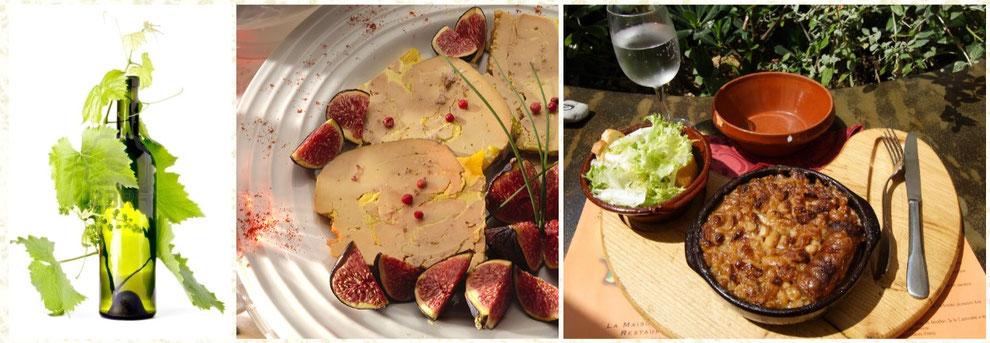 Gites des Camparros à Nailloux, plats typiques du Lauragais