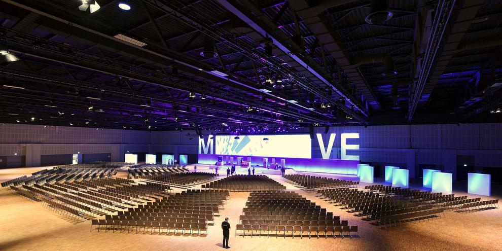 Estrel Berlin setzt in neuer Convention Hall auf Kinetiklösung von Movecat