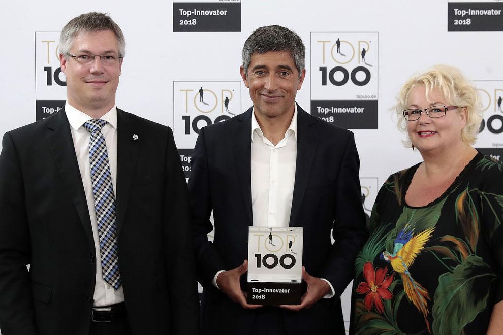 MOVECAT bekommt erneut Innovationspreis und TOP 100-Siegel