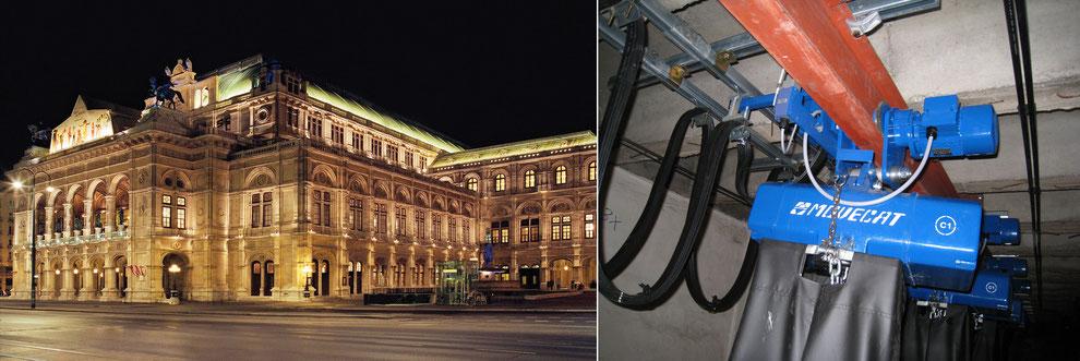 Wiener Staatsoper: Maßanfertigung von Movecat mit BGV C1/SIL 1 Sicherheit